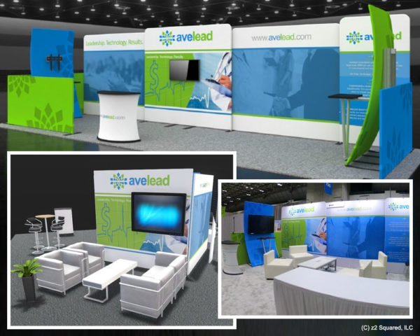 z2 Squared Portfolio Avelead Booth Design