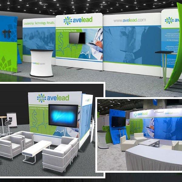 z2 Squared Portfolio Avelead Booth Design 600 x 600