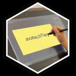 z2 Squared Custom Logos Hex Button