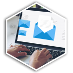 z2 Squared Email Campaigns Hex Button