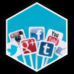 z2 Squared Social Media Management Hex Button